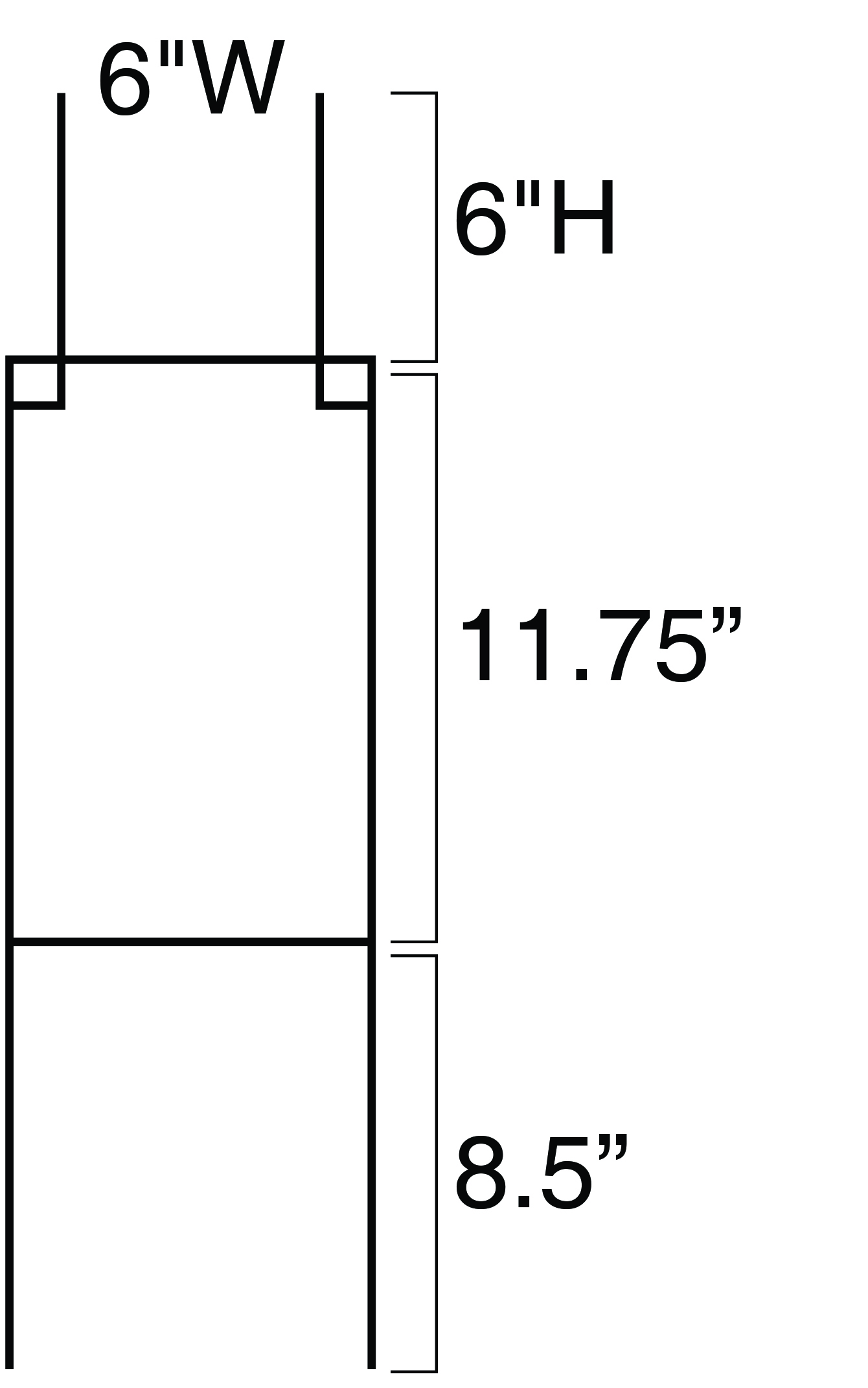 28 X 8 Heavy Duty Sign Stake With Kick Bar Imperial Wire Inc Allanson Ballast Wiring Diagram View Larger Image